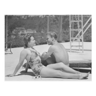 Poolside Fandom Postcard
