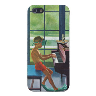 Poolside Piano Practice iPhone 5 Covers