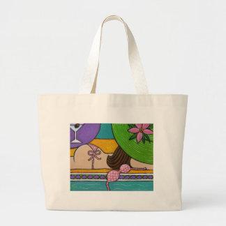 Poolside Playtime Jumbo Tote Bag