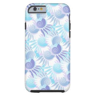 Poolside Summer Art Deco Aqua Chic Tough iPhone 6 Case