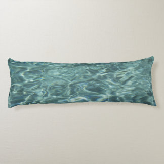 Poolside Water Texture Body Pillow