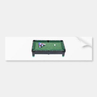 PoolTable071809 Bumper Sticker