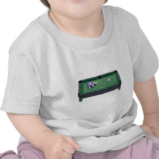 PoolTable071809 Camisetas