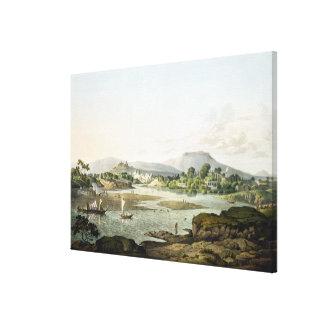 Poonah, placa XIII, grabada por Daniel Havell (178 Impresión En Lienzo