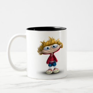 Poonipoo Two-Tone Coffee Mug