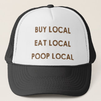 POOP1 TRUCKER HAT