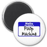 poop3 refrigerator magnet