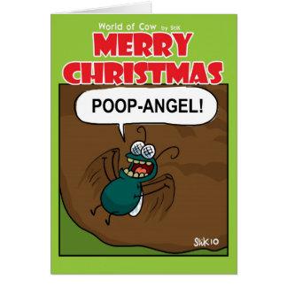 POOP-ANGEL! CARD