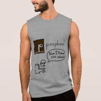 Poop Book the Facebook Social Media Alternative Sleeveless T-shirt