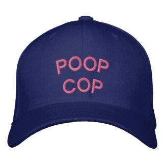 """POOP COP"" embroidered on  cap"
