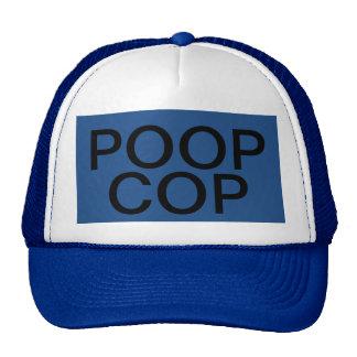 POOP COP - Trucker Hat by eZaZZleMan.com