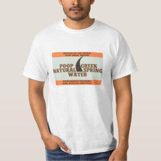 Poop Creek Natural Spring Water T-shirt