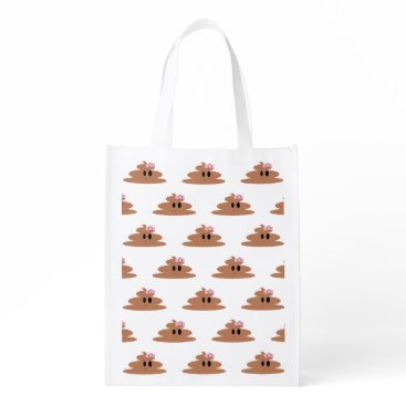 Poop Cute and Funny Reusable Bags