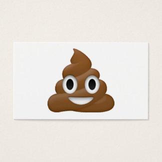 Poop - Emoji Business Card