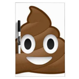 poop emoji Dry-Erase boards