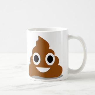 Poop Emoji Emoticon Funny Mug