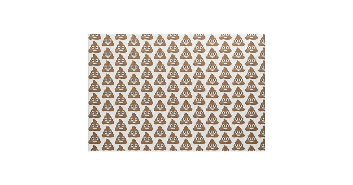 Poop emoji fabric zazzle for Emoji material by the yard