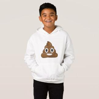 Poop emoji hoodie