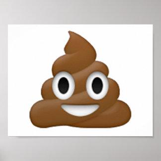 Poop - Emoji Poster