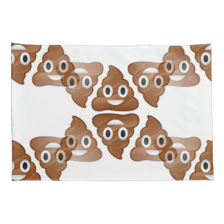 poop emojis pillow case pillowcases