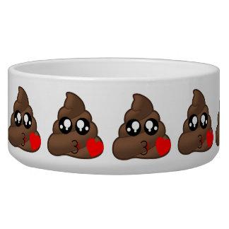 Poop Heart Love Emoji Bowl
