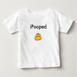 poop, iPooped Baby T-Shirt