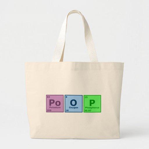 Poop Jumbo Tote Bag