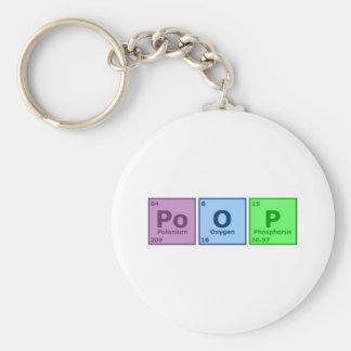 Poop Keychain
