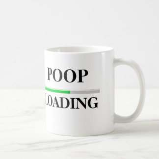 Poop Loading Classic White Coffee Mug
