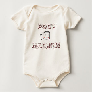 Poop Machine Baby Bodysuit