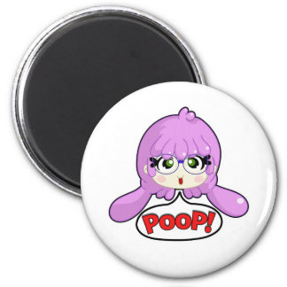 Poop! 2 Inch Round Magnet