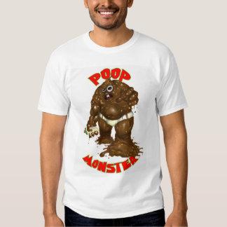 poop monster t shirt