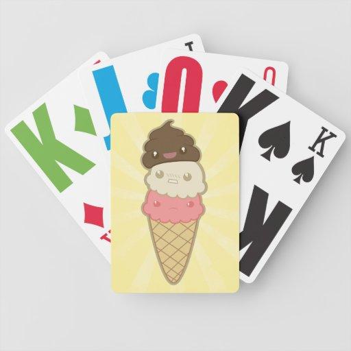 Poop on Ice Cream Bicycle Card Decks
