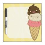Poop on Ice Cream Dry Erase Boards
