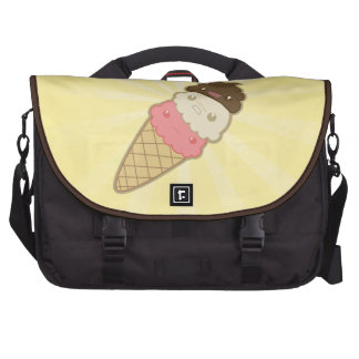 Poop on Ice Cream Computer Bag