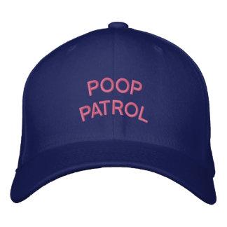 """""""POOP PATROL"""" embroidered on  cap"""