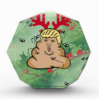 poop reindeer donald trump award