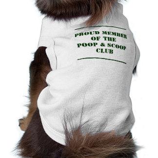 Poop & Scoop Club Dog Tee Shirt