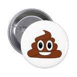 Poop Smiley Button