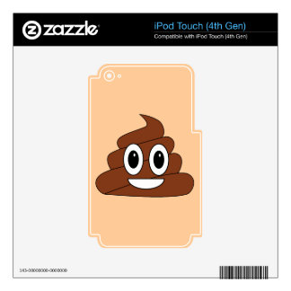 Poop Smiley Decal For iPod Touch 4G