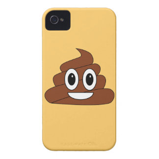 Poop smiley iPhone 4 cover