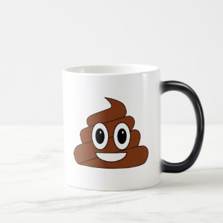 Poop Smiley Magic Mug