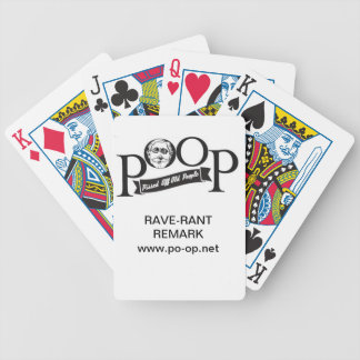 POOP Stuff - Bicycle Playing Cards