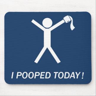 ¡Pooped hoy! Tapetes De Raton