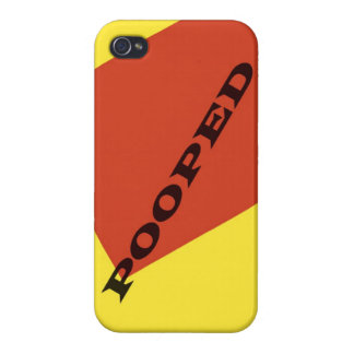 """""""Pooped"""" iPhone 4 Cover"""