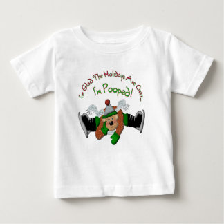 Pooped Out Reindeer Infant T-Shirt 18 months