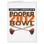 Pooper Bowl 2012 Greeting Card