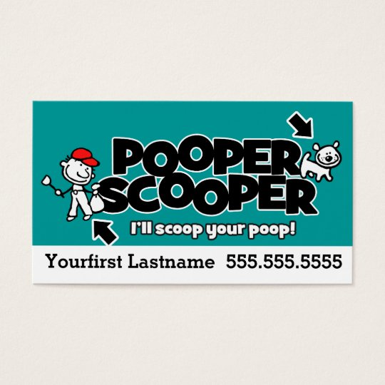 Pooper scoopert waste removalstom textcolor business card pooper scoopert waste removalstom textcolor business card reheart Image collections