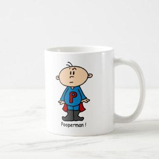 Pooperman Baby Mug