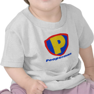 Pooperman Camiseta
